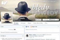 Uniwersytet Śląski chce uczyć poprawności językowej za pomocą fanpage'u na FB Błędy i Owędy