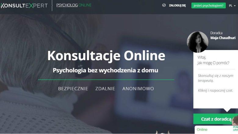 Strona internetowa Konsult Expert