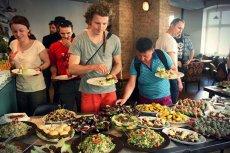 Otwarcie pierwszego piętra baru wegańskiego przy wrocławskim rynku.