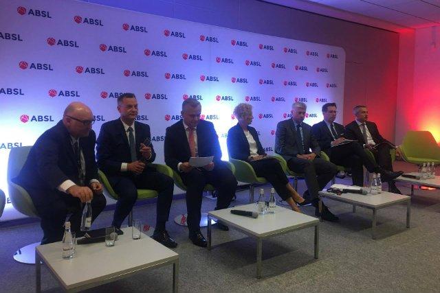Konferencja ABSL w Łodzi poświęcona tematyce usług biznesowych.