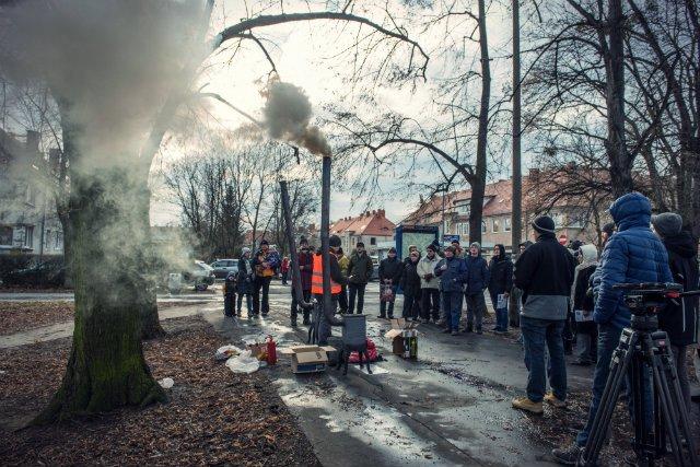 Antysmogowy happening we Wrocławiu