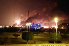 W wyniku ataku dronów w ogniu stanęły dwie instalacje rafinerii.