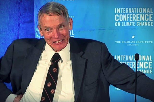Prof. William Happer, znany negacjonista zmian klimatycznych.