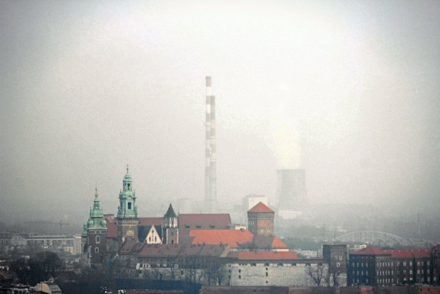 Na 50 najbardziej zanieczyszczonych miast w Europie aż 33 są ulokowane nad Wisłą