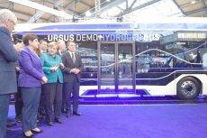 Ursus pokazał pierwszy polski autobus elektryczno-wodorowy