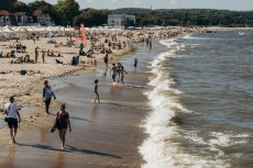 W Sopocie tłumów nie ma, z powodu sinic odwołano też wyścigi pływackie. W takich miejscowościach straty finansowe będą największe.