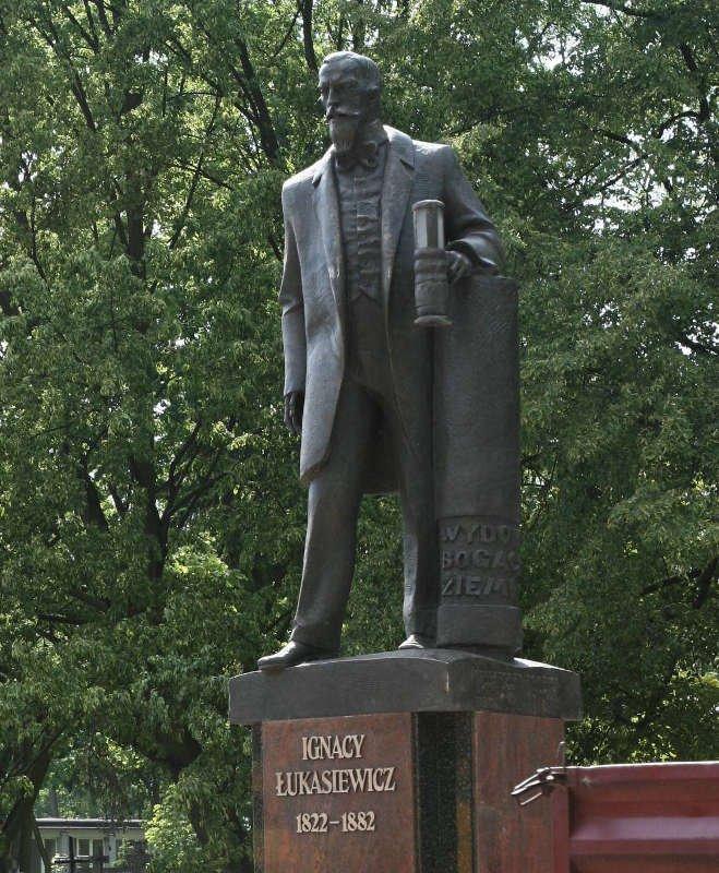 """Ignacy Łukasiewicz w """"pełnej krasie"""""""