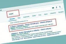 mBank radzi, by w przypadku zalogowania się na fałszywą stronę jak najszybciej zmienić hasła dostępu i zastrzec kartę