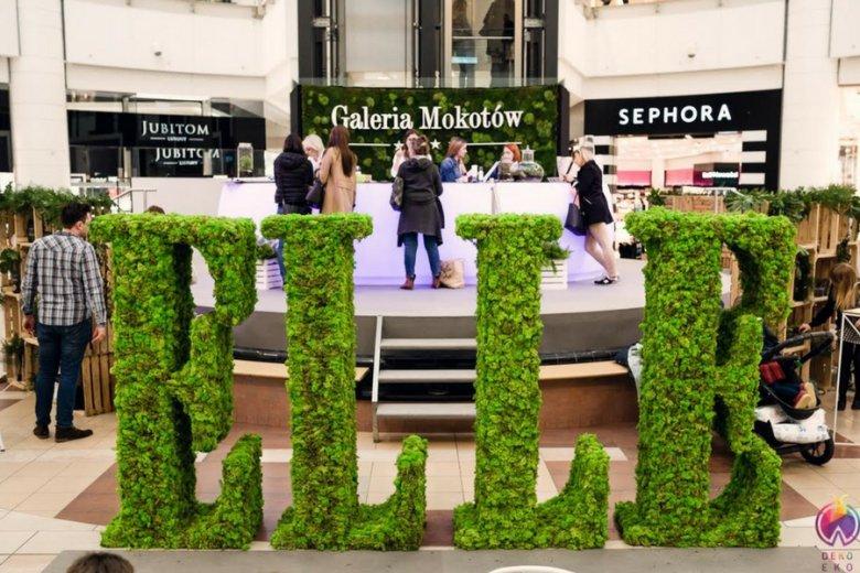 Projekt Modny Eko Event realizowany dla Galerii Mokotów.