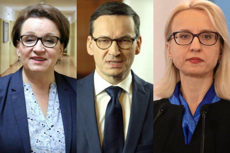 """Teresa Czerwińska twierdzi, że plotki o jej odejściu ze stanowiska są """"przesadzone"""". Nie tylko ją może wkrótce czekać zmiana pracy."""