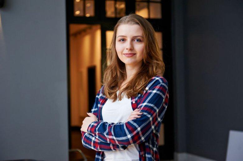 Anna Maksymenko z Ukrainy dziwi się, że w Polsce tyle narzekamy. Chciała wystartować w konkursie, ale nie potrafiła programować, więc... znalazła do tego zespół.