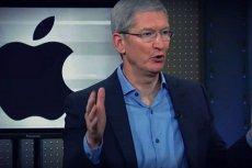Tim Cook, szef Apple, twierdzi, że firma uczciwie płaci podatki. Fiskus ma inne zdanie na ten temat