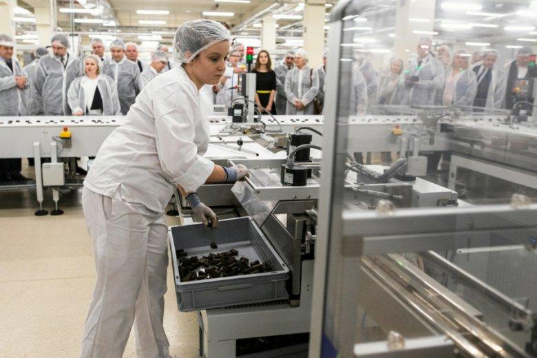 Podatek cukrowy doprowadziłby do podwyżki cen wielu produktów. Na zdj. Fabryka Cukierków Pszczółka.