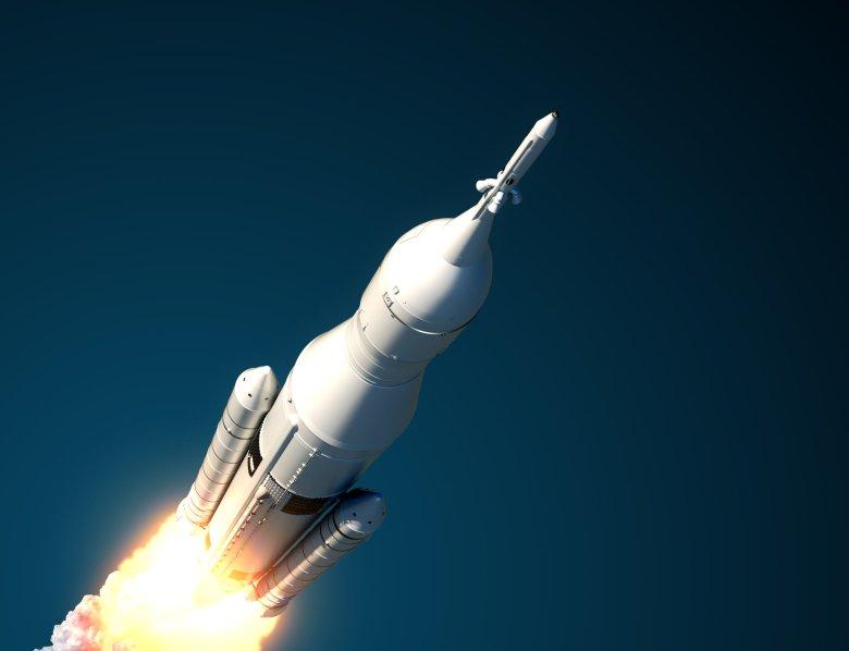 3 grudnia 2018 r. polski satelita PW-Sat2 wystartował na pokładzie rakiety Falcon 9 na orbitę ziemską. (zdjęcie poglądowe)