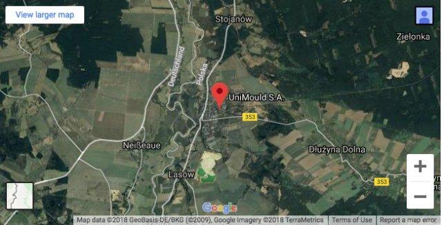Pieńsk położony jest blisko granicy z Niemcami