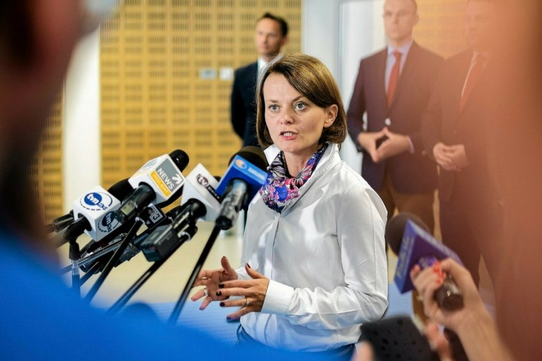 Minister przedsiębiorczości Jadwiga Emilewicz. Na warsztat wzięła tzw. zatory płatnicze.