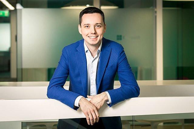 Wojciech Życzyński, członek zarządu polskiego oddziału Microsoft, zaangażowany w Startberry