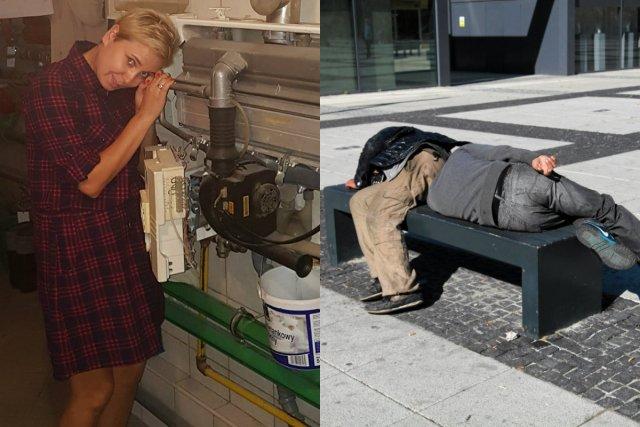 Adriana Porowska potrzebowała pieniędzy na piec dla mężczyzn ze schroniska