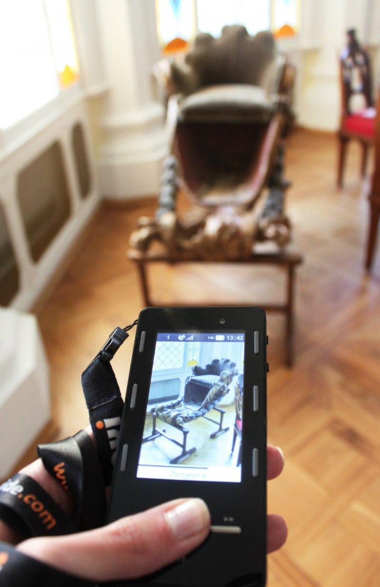 Audioprzewodnik w Pałacu w Rogalinie (Muzeum Narodowe w Poznaniu)