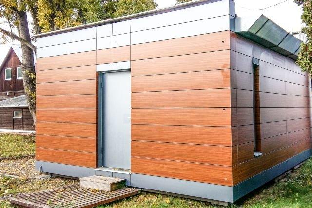 Jeden z wcześniejszych projektów Solace. Ten domek składa się w 8 godzin
