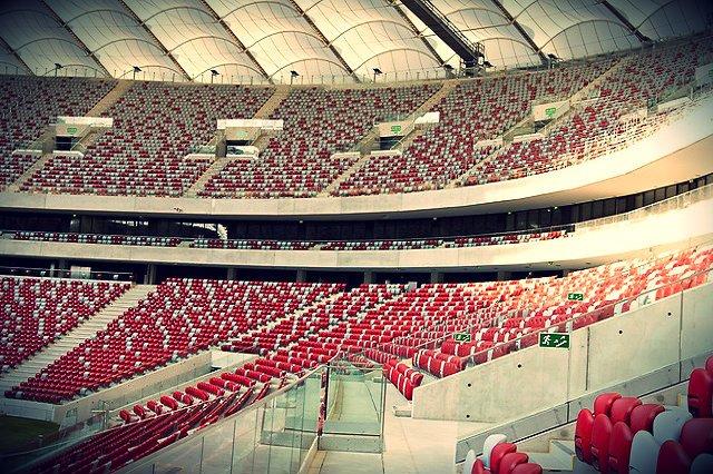 Stadion Narodowy w Warszawie również został wyposażony przez markę z Jasła.