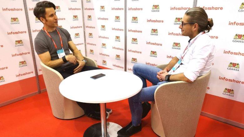 """Igor Mróz, autor """"Zero Bullshit Management"""" w trakcie rozmowy z Krzysztofem Majdanem, redaktorem naczelnym INNPoland.pl"""