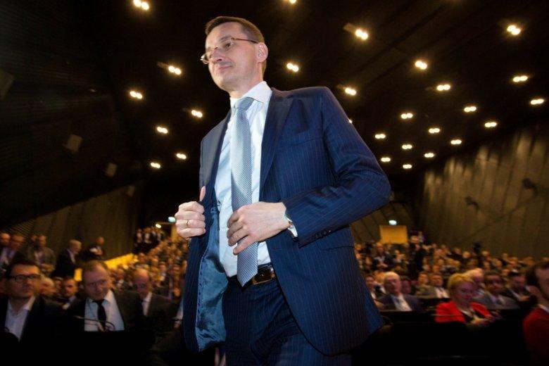Patron jednej z najsilniejszych frakcji biznesowych rządu, a zarazem największy przegrany ostatnich roszad: wicepremier Mateusz Morawiecki.