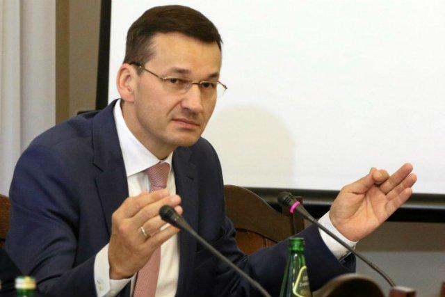 """Mateusz Morawiecki wyznał, co według niego jest """"rzeczywistym skandalem"""" w aferze Srebrnej."""