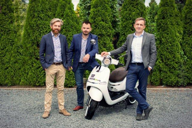 Założyciele polskiego start-upu blinkee.city