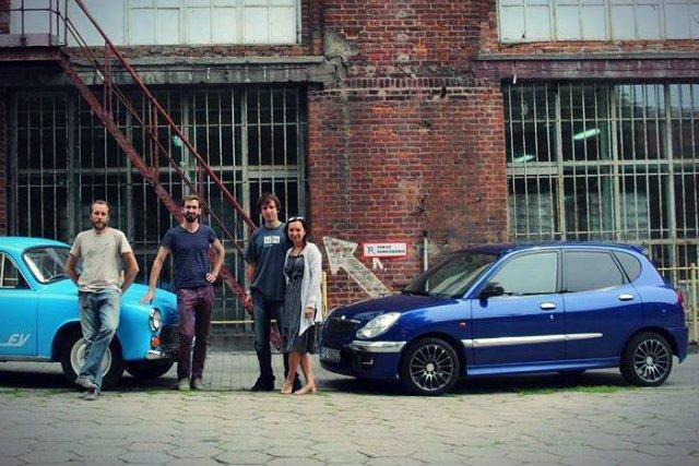 Krzysztof Przybek własnoręcznie zbudował samochód elektryczny
