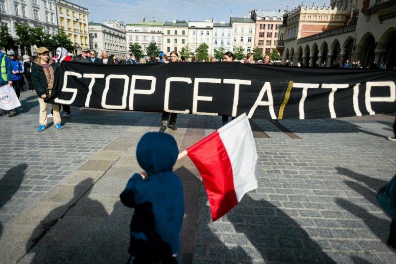 PGS jest kojarzona z kampanią przeciw umowom TTIP i CETI.