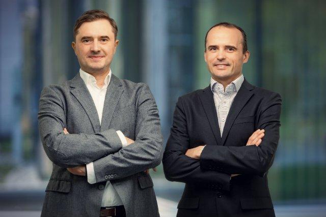 Jacek Podoba i Jacek Komaracki, założyciele GIVT