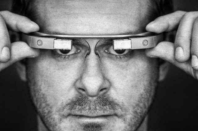 Okulary Google Glass.