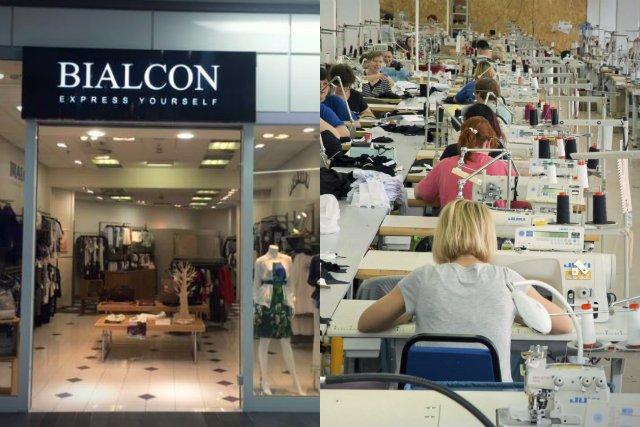 """Odzieżowa firma Bialcon od kilku lat zmaga się z jedną natrętna myślą: """"a może by tak wynieść się z naszą produkcją za granicę?"""". I co roku, po naradach, w końcu z tego rezygnuje"""