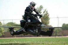 Policja w Dubaju naprawdę ma latający motocykl