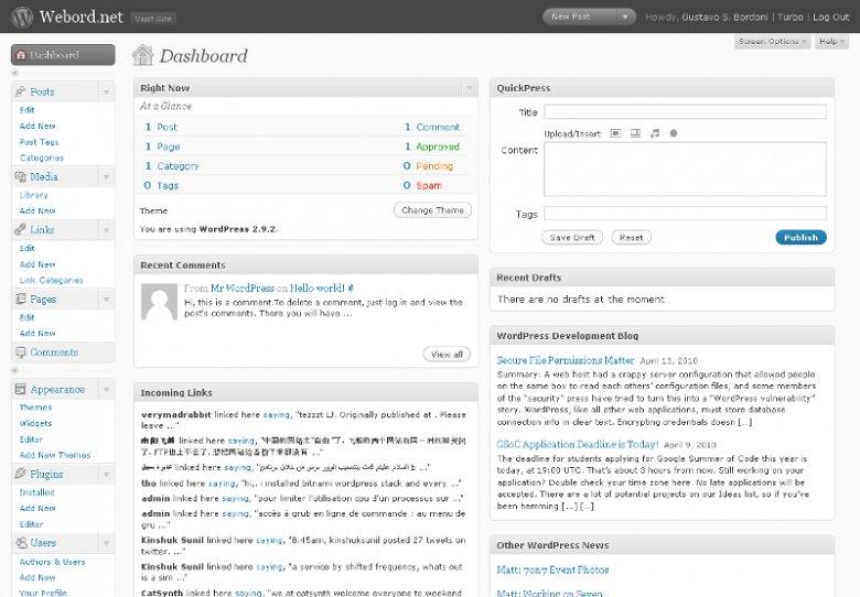 Wordpress jest najpopularniejszych systemem zarządzania treścią na świecie. Przydaje się amatorom do prowadzenia własnych stron internetowych