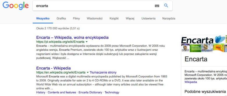 Wikipedia pamięta.