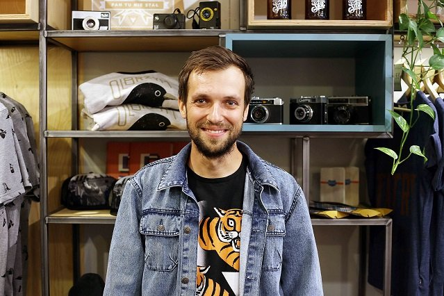 Maciej Lebiedowicz, pomysłodawca i założyciel marki