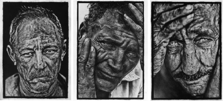 Foto: Stephane Noel, Cykl fotografii w technice gumy dwuchromianowej