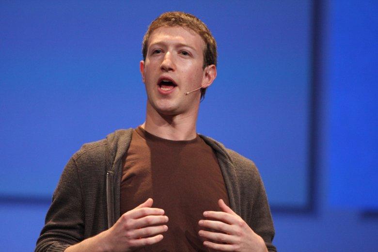 Szef Facebook Mark Zuckerberg opowiada o swojej wizji biznesu