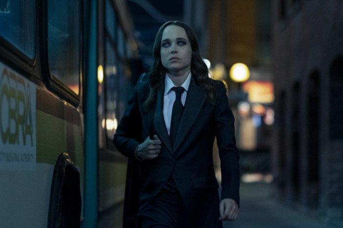 Ellen Page w Umbrella Academy.