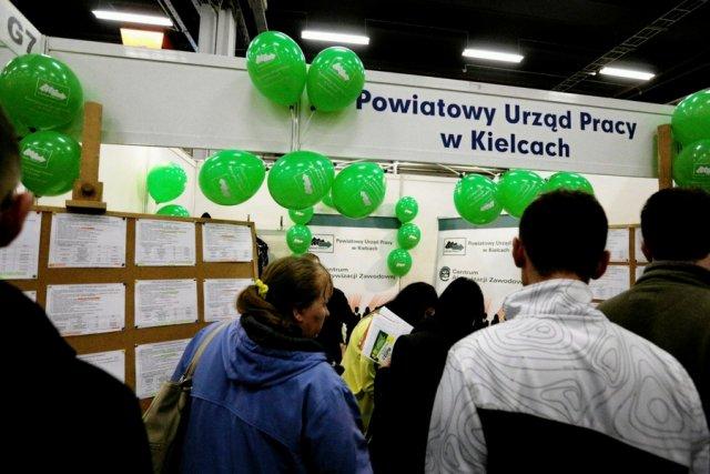 Targi pracy w Kielcach.