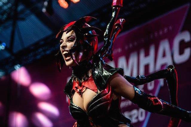W cosplayu z gry League Of Legends.