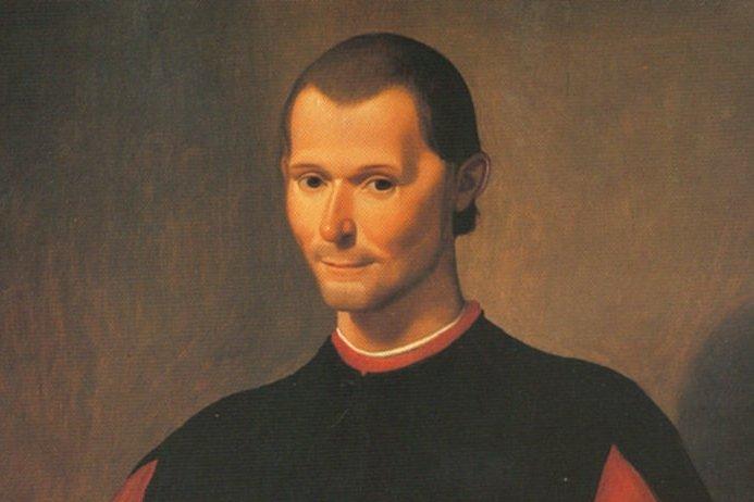 Santi di Tito,  Portret  Niccolo Machiavelliego