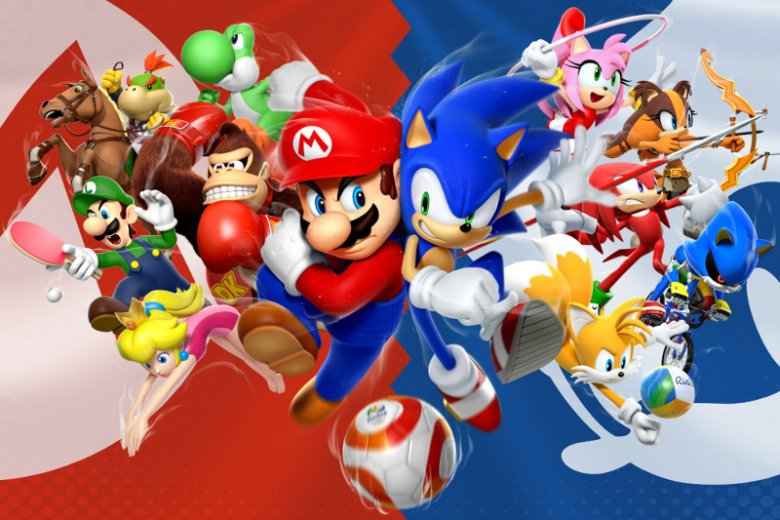Wojna o klienta toczona między Nintendo i Segą w latach 90. w okresie 4. generacji konsol często nazywana jest przez graczy starciem Mario vs Sonik. Popularność gier z ich udziałem uczyniła z tych postaci maskotki 2 konkurentów