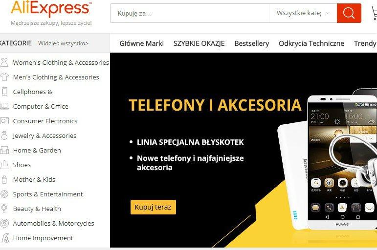 AliExpress daje Polakom możliwość płacenia za pomocą PayU