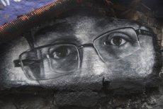 Mural przedstawiający sygnalistę, byłego analityka NSA - Edwarda Snowdena. Na konferencji WebSummit zakwestionował skuteczność RODO