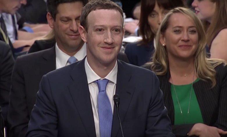 Dzięki zeznaniom Zuckerberga przed Kongresem, akcje Facebooka wzrosły na giełdzie.