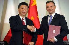 Prezydent RP Andrzej Duda i Przewodniczący Xi Jinping