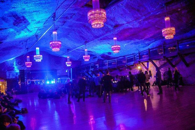 Kopalnia soli w Wieliczce to jedno z miejsc, w którym goszczą artyści zaproszeni na Unsound.